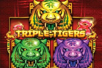 Triple Tigers Slot Logo