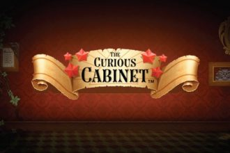 The Curious Cabinet Slot Logo