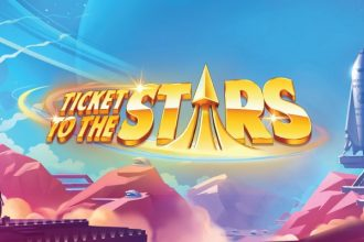 Ticket To The Stars Slot Logo
