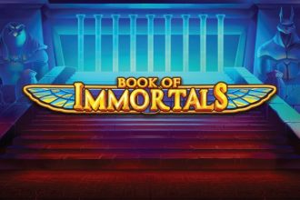 iSoftbet Book of Immortals Slot Logo