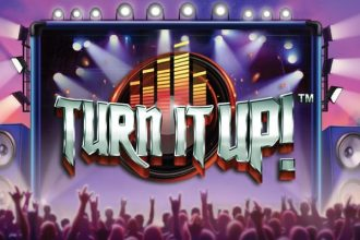 Turn It Up Slot Logo