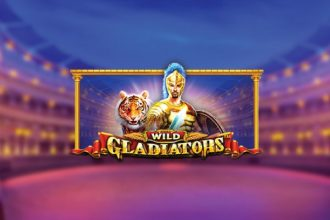 Wild Gladiators Slot Logo