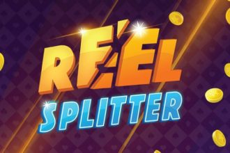 Reel Splitter Slot Logo