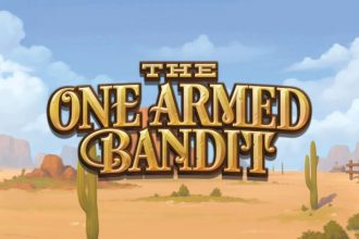 The One Armed Bandit Online Slot Logo