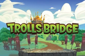 Trolls Bridge Slot Logo