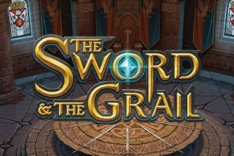 The Sword And The Grail Online Slot Logo