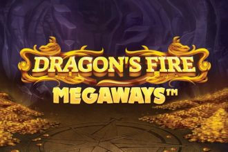 Dragons Fire Megaways Slot Logo