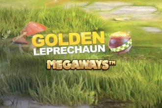 Golden Leprechaun Megaways Online Slot Logo