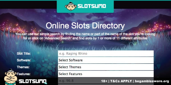 The New Slot Reviews Search Directory