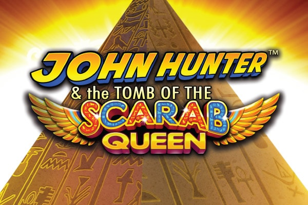 Tomb of the Scarab Queen Slot Logo