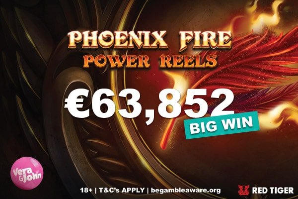 €63,852 Vera&John Finnish Casino Big Slot Win