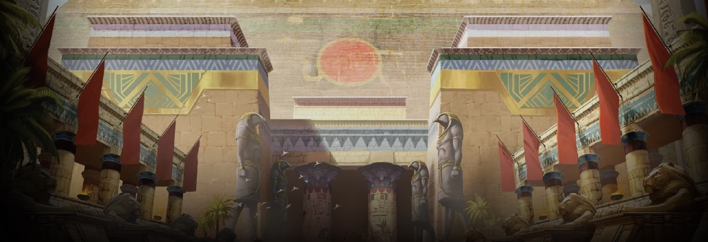 Dawn of Egypt Background Image