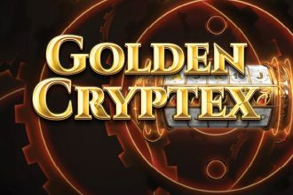 Golden Cryptex Slot Logo