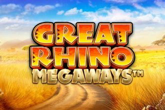 Great Rhino Megaways Slot Logo