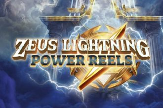 Zeus Lightning Power Reels Slot Logo