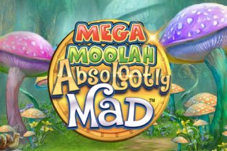 Absolootly Mad Mega Moolah Slot Logo