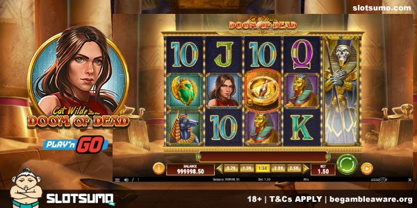 Cat Wilde and the Doom of Dead New Slot Release
