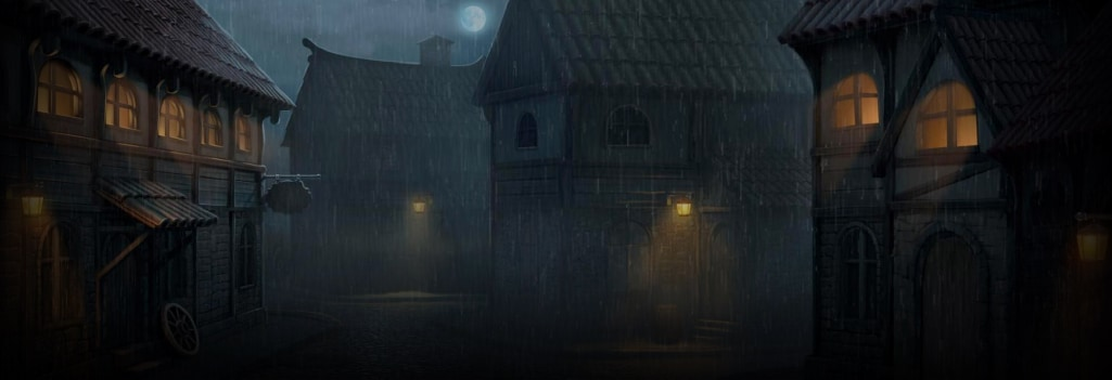 Curse of the Werewolf Megaways Background Image