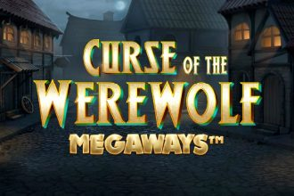 Curse of the Werewolf Megaways Slot Logo