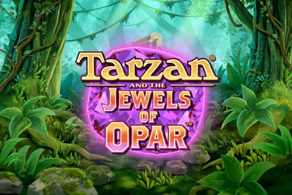 Tarzan and the Jewels of Opar Slot Logo