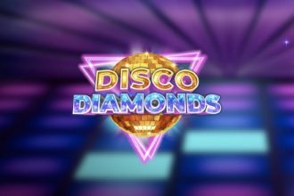 Disco Diamonds Slot Logo
