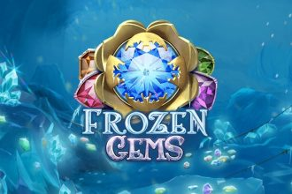 Frozen Gems Slot Logo
