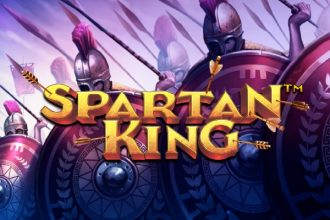 Spartan King Slot Logo