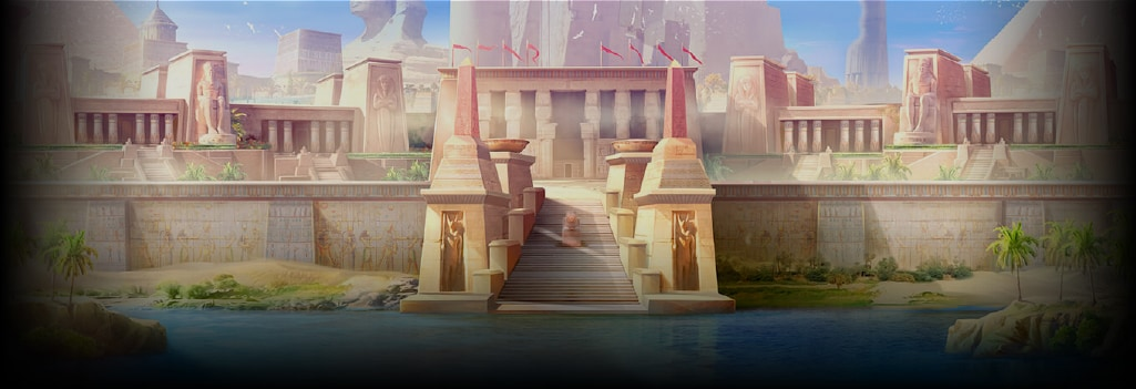 Mysterious Egypt Background Image