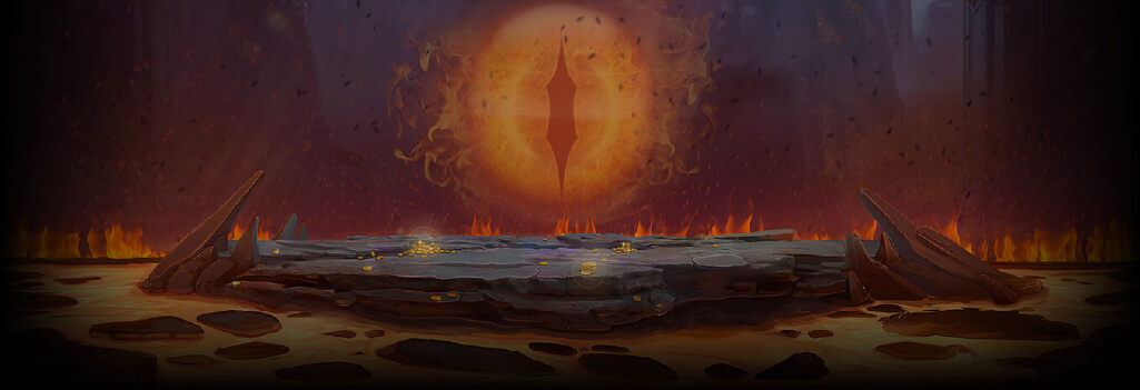 Dragon's Fire InfiniReels Background Image