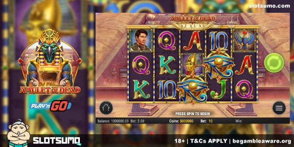 Rich Wilde and the Amulet of the Dead New Slot Release
