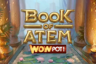 Book of Atem WowPot Slot Logo