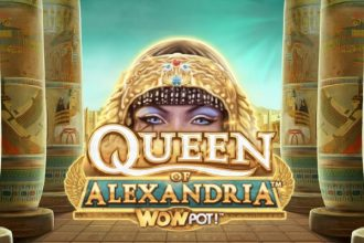 Queen of Alexandria Slot Logo
