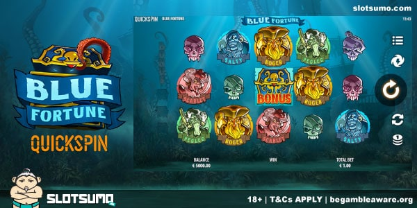 Blue Fortune New Slot Release